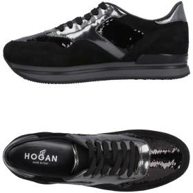 《期間限定セール開催中!》HOGAN レディース スニーカー&テニスシューズ(ローカット) ブラック 34 革