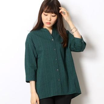 [マルイ]【セール】綿シルクチェック 羽織シャツ/セシオセラ(CECI OU CELA)