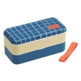 お弁当箱 シンプルランチボックス 2段 ロッタヤンスドッター 600ml 長角型 箸付き