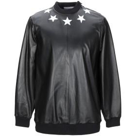 《期間限定 セール開催中》GIVENCHY メンズ スウェットシャツ ブラック XS 羊革(ラムスキン) 100% / レーヨン