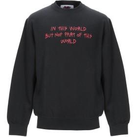 《期間限定セール開催中!》BAD DEAL メンズ スウェットシャツ ブラック S コットン 80% / ポリエステル 20%