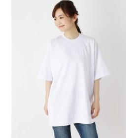 OPAQUE.CLIP(オペークドットクリップ) ドロップショルダーTシャツ