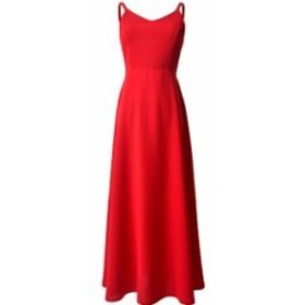 ロング ワンピース バックリボン ピンク 赤 キャミ 大人 秋物 冬物 最新 レディース ファッション2020 人気 可愛い 大人