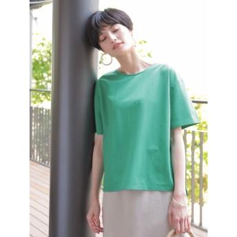 【オンワード】 koe(コエ) カノコクルーネックTシャツ Green F レディース 【送料無料】