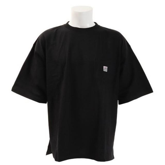 VISION 【オンライン特価】 胸ポケット付き 半袖BIGTシャツ 9523117-01BLK (Men's)