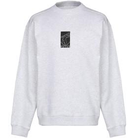 《セール開催中》FUTUR メンズ スウェットシャツ ライトグレー L コットン 100%