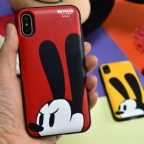 【この夏復活!】ディズニーオズワルドドアカード収納ケータイケース iPhone X max  Galaxy S10e  スマホケース 正規品 ディズニー