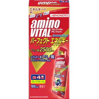 アミノバイタル アミノショット パーフェクトエネルギー (45g4本入)