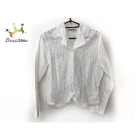 ナラカミーチェ NARACAMICIE 長袖シャツブラウス レディース 白 花柄/刺繍   スペシャル特価 20190828