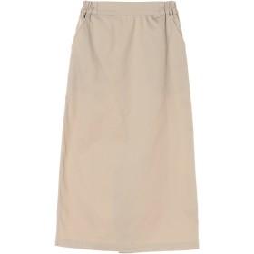 【6,000円(税込)以上のお買物で全国送料無料。】・ミモレ丈ナロースカート