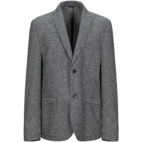 《期間限定セール開催中!》DANIELE ALESSANDRINI メンズ テーラードジャケット ブラック 50 ウール 50% / ポリエステル 30% / コットン 20%