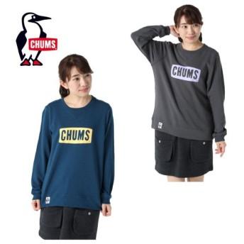 チャムス CHUMS スウェットトレーナー レディース ロゴ LS クルー CH10-1116