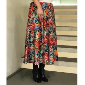 TOMORROWLAND / トゥモローランド ポリエステルフラワープリント サーキュラースカート