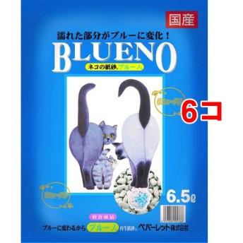 猫砂 紙 ブルーノ (6.5L6コセット)