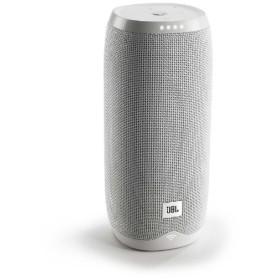 JBLLINK20WHTJP スマートスピーカー(AIスピーカー) ホワイト [Bluetooth対応 /Wi-Fi対応 /防水]