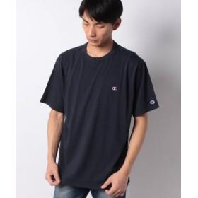 (MARUKAWA/マルカワ)【Champion】大きいサイズ メンズ チャンピオン 半袖 Tシャツ ワンポイント 刺繍 ブランド/メンズ ネイビー