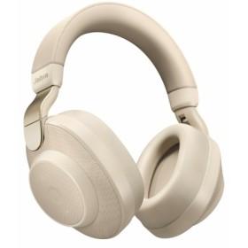 Bluetoothヘッドホン 100-99030002-40 Gold Beige [マイク対応 /ノイズキャンセリング対応]