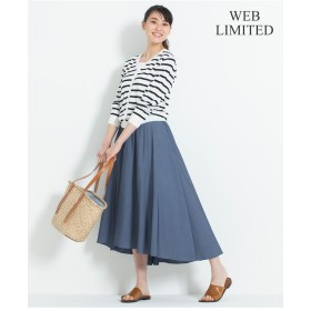 自由区 STRETCH POPLIN スカート