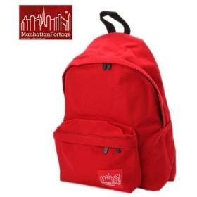 マンハッタンポーテージ(Manhattan Portage) Big Apple Backpack MP1210 RED リュックサック カジュアルバッグ