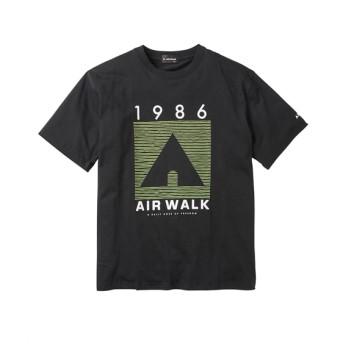 AIRWALK(エアウォーク) ロゴプリント半袖Tシャツ 大きいサイズメンズ Tシャツ・カットソー