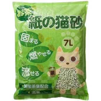 お茶 紙の猫砂 (7L)