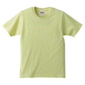 5.0オンス レギュラーフィットTシャツ(キッズ) カラー [カラー:ライトイエロー] [サイズ:160] #5401-02C-487