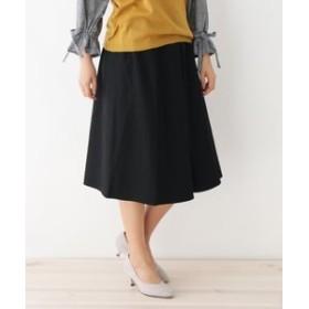 【pink adobe:スカート】◆【セットアイテム】ツイルウエストリボン付きスカート