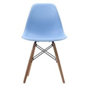 Eames イームズチェア リプロダクト (ブルー/木製ナチュラル)