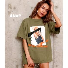 【セール開催中】ANAP(アナップ)フォトプリントBIG Tシャツ