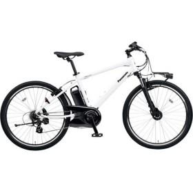 【単品購入時メーカー直送】26型 電動アシスト自転車 ハリヤ(クリスタルホワイト/外装7段変速)BE-ELH342F【2019年モデル】