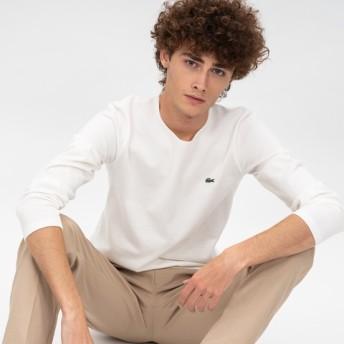 コットンピケバスクTシャツ (長袖)