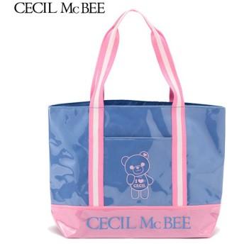 CECIL McBEE セシルマクビー トートバッグ アオ 女児ガールズビーチバック 海水小物 N119-930