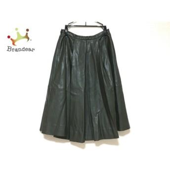 チェスティ Chesty ロングスカート サイズ0 XS レディース 美品 ダークグリーン スペシャル特価 20190904