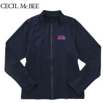 CECIL McBEE セシルマクビー 長袖スクールラッシュガード コイアオ 女児ガールズラッシュガード 海水小物 N119-942