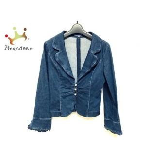 エムズグレイシー M'S GRACY ジャケット サイズ38 M レディース 美品 ネイビー デニム スペシャル特価 20190803