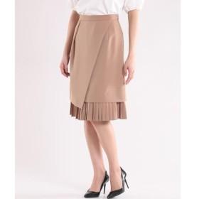 ef-de / エフデ 裾プリーツフレアスカート