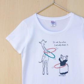 ☆送料無料☆定番Tシャツ「フラフープ!」