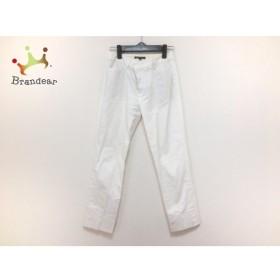 ニジュウサンク 23区 パンツ サイズ36 S レディース 美品 白   スペシャル特価 20190910