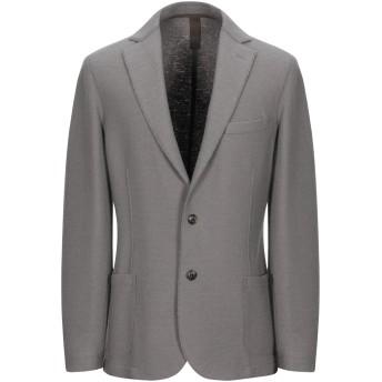 《期間限定セール開催中!》ELEVENTY メンズ テーラードジャケット グレー 52 バージンウール 100%
