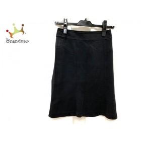 ニジュウサンク 23区 スカート サイズ30 XS レディース 美品 黒   スペシャル特価 20190906