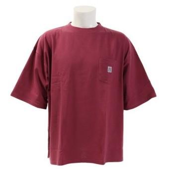 VISION 【オンライン特価】 胸ポケット付き 半袖BIGTシャツ 9523117-74LAV (Men's)