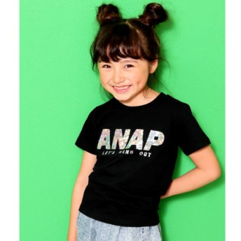 [マルイ]【セール】ホログラムロゴTシャツ/アナップキッズ&ガール(ANAP KIDS&GIRL)
