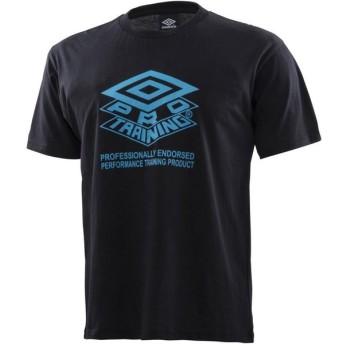 UMBRO(アンブロ) クラシックロゴTシャツ ULUNJA55 BLK ブラック M