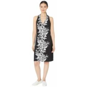 トッミーバハマ レディース ワンピース トップス Flower of Pisa Short Dress Black