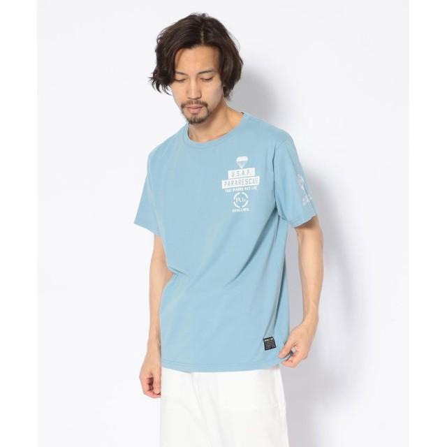 【30%OFF】 アヴィレックス クルーネック Tシャツ/CREW NECK T SHIRT PJs メンズ SACKS XXL 【AVIREX】 【セール開催中】