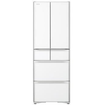 R-XG43J-XW 冷蔵庫 クリスタルホワイト [6ドア /観音開きタイプ /430L]