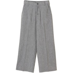 BRAPPERS BRAPPERS / ブラッパーズ EASY WIDE TROUSERS ワイド・バギーパンツ,ネイビー