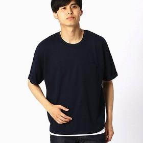 <COMME CA ISM (メンズ)> 【セットアイテム】 Tシャツ×タンクトップセット(4764TL28) ネイビー 【三越・伊勢丹/公式】