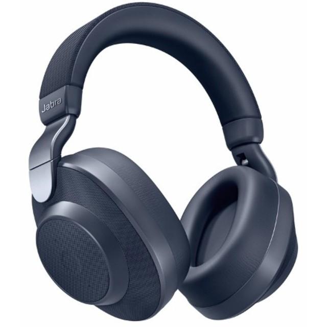 Bluetoothヘッドホン 100-99030001-40 Navy [マイク対応 /ノイズキャンセリング対応]