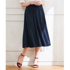 スタクロ 切替フレアースカート (大きいサイズレディース)スカート